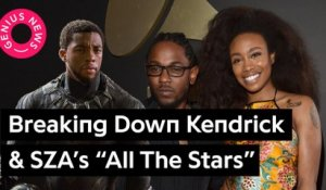 "Kendrick Lamar & SZA Link Up For ""All The Stars"" From The 'Black Panther' Soundtrack"