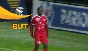 But Isaac MBENZA (86ème) / Angers SCO - Montpellier Hérault SC - (0-1) - (SCO-MHSC) / 2017-18