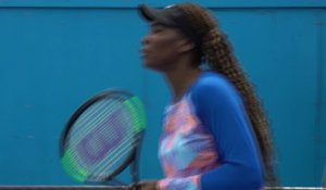 Open d'Australie 2018 - Venus Williams à l'entrainement à Melbourne