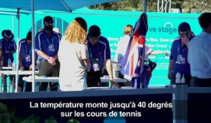 Tennis: Vague de chaleur à l'Open d'Australie
