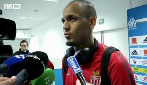 "Fabinho : ""Content d'avoir pris un point à Marseille"""