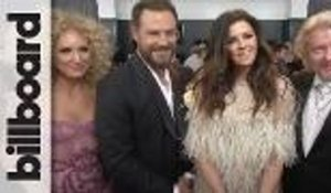 Little Big Town Discuss Winning Their 3rd Grammy | Grammys 2018
