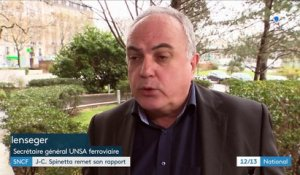 SNCF : Jean-Cyril Spinetta remet son rapport