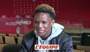 Mothiba «La chance de ma vie» - Foot - L1 - LOSC