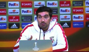 Abel Ferreira le coach de Braga croit l'exploit d'une qualification possible