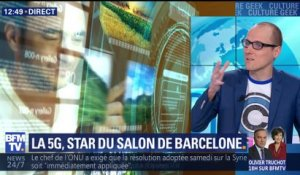 La 5G, star du salon du mobile de Barcelone