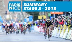 Summary - Stage 5 - Paris-Nice 2018