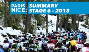 Flash Summary - Stage 6 - Paris-Nice 2018
