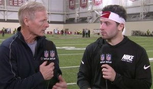 Baker Mayfield reveals his favorite part about the draft process