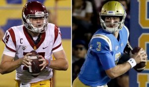 Sam Darnold vs. Josh Rosen: Comparing how each QB has developed over time