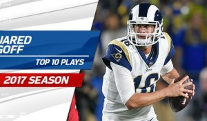 Top 10 Jared Goff plays | 2017 season