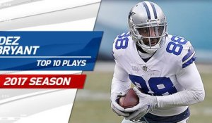 Top 10 Dez Bryant plays | 2017 season
