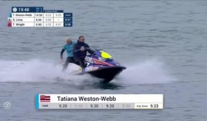 Adrénaline - Surf : Tatiana Weston-Webb with a 9.23 Wave vs. T.Wright, S.Lima