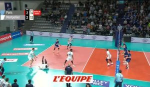 Paris l'emporte sur Montpellier - Volley - Ligue A (H)
