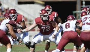 Breaking down Frank Ragnow's college highlights