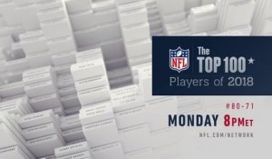 Top 100 Players 80-71 Mon 8 pm