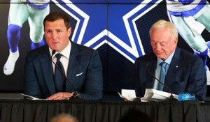 Jerry Jones gets emotional after Witten mentions a classic Jerry-ism