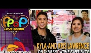 Kyla and Kris Lawrence  on their Showtime Experience