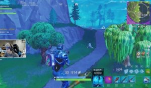 FORTNITE : gros fail de ninja (lol)