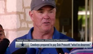 Stephen Jones on potential future contract extension for Dak: 'We've got that planned'