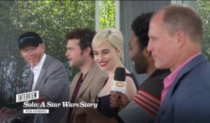Solo : A Star Wars Story - Emilia Clarke, Donald Glover, Woody Harrelson et Ron Howard - Cannes 2018