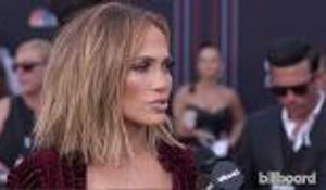 Jennifer Lopez Shares Details of Collaborating with Cardi B and Janet Jackson | BBMAs 2018