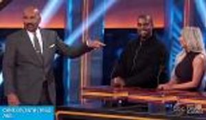 Kanye West and the Kardashians' 'Family Feud' Episode Teaser Drops | Billboard News