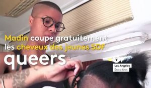 À Los Angeles, un salon de coiffure pour SDF queer