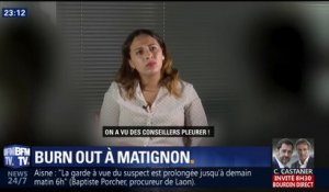 L'oeil de Salhia Brakhlia : On a enquêté sur le burn out à Matignon !