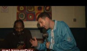 Snoop Dogg interview backstage - Westwood