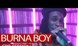 Burna Boy freestyle - Westwood Crib Session (4K)