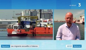"Migrants de l'Aquarius : ""La France va envoyer une mission d'observation"""