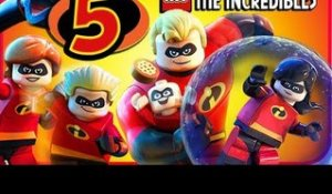 LEGO The Incredibles Walkthrough Part 5 (PS4, Switch, XB1) No Commentary Co-op