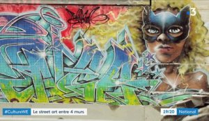 Culture : le street art s'invite dans les galeries d'art