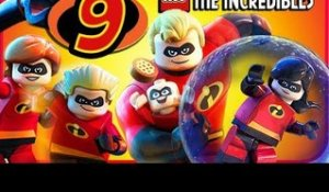 LEGO The Incredibles Walkthrough Part 9 (PS4, Switch, XB1) No Commentary Co-op