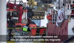 Migrants: le Lifeline accoste enfin à Malte