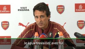 "Arsenal - Emery: ""Je veux travailler avec Ramsey"""