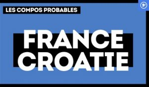 France - Croatie : les compos probables