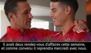 Bayern - Kovac confirme le retour imminent de James Rodriguez