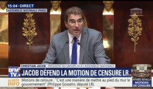 "Motion de censure: ""L'affaire Benalla laissera des traces profondes"", assure Christian Jacob"