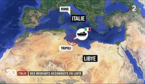Italie : des migrants reconduits en Libye