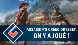 ASSASSIN'S CREED ODYSSEY : On y a joué ! | GAMEPLAY FR