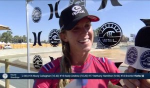 Adrénaline - Surf : Keely Andrew with a 1.7 Wave from Surf Ranch Pro, Women's Championship Tour - Qualifying Round