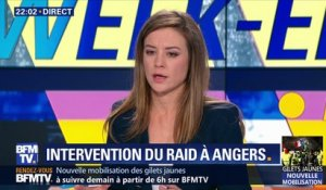 Intervention du RAID à Angers