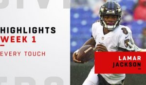 Every Lamar Jackson touch | Week 1
