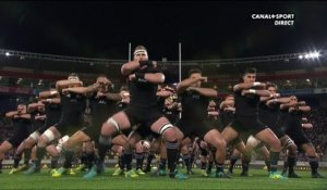 Le Haka des All Blacks face aux Springboks