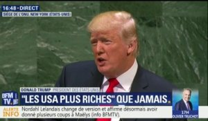 "ONU: ""La dictature iranienne finance le conflit en Syrie et sème la destruction"", affirme Donald Trump"