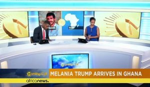 Melania Trump en visite au Ghana [The Morning Call]