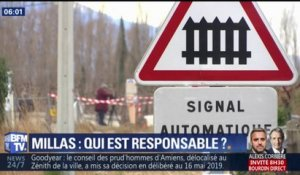 Qui est responsable de l'accident de Millas ?