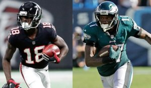 Better Week 6 fantasy option: Calvin Ridley or Alshon Jeffery?